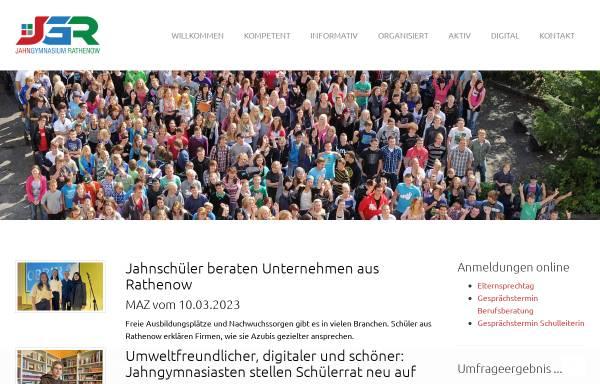 Vorschau von jahngymnasium-rathenow.de, Friedrich-Ludwig-Jahn-Gymnasium Rathenow