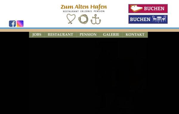 Vorschau von www.zum-alten-hafen.de, Zum Alten Hafen