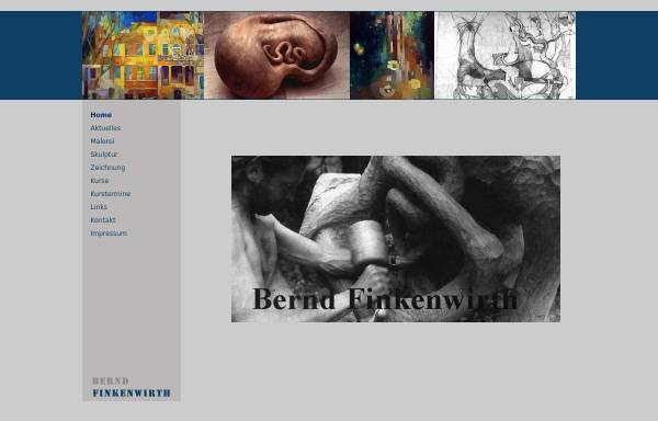 Vorschau von www.bernd-finkenwirth.de, Künstler Bernd Finkenwirth