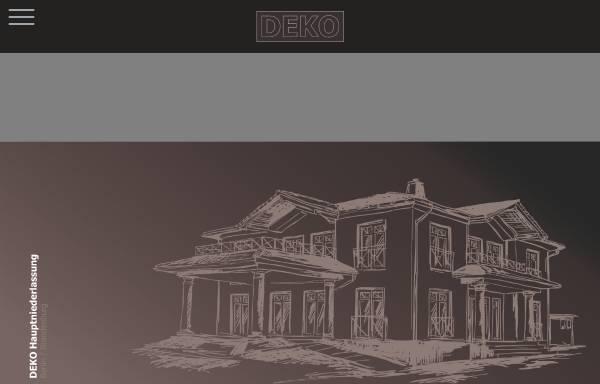 Vorschau von www.deko-hausbau.de, Deko Hausbau GmbH