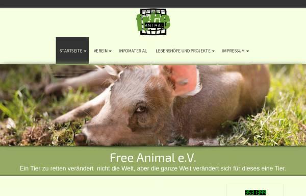 Vorschau von www.freeanimal.de, Free Animal