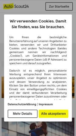 a90dc0767f2154 ... Autoservice Sager Vorschau der mobilen Webseite haendler.autoscout24.de