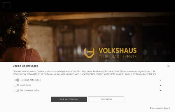 Vorschau von www.volkshaus-strausberg-nord.de, Das Volkshaus Strausberg - Volkshaus Strausberg Nord Betriebsgesellschaft mbH