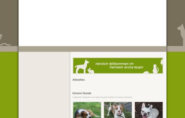 Vorschau von tierheim-arche-noah.bmtev.de, Tierheim Arche Noah Bremen