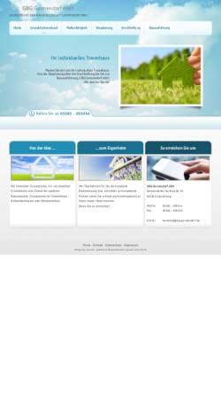 Vorschau der mobilen Webseite www.gbg-germendorf.de, GBG Germendorf mbH