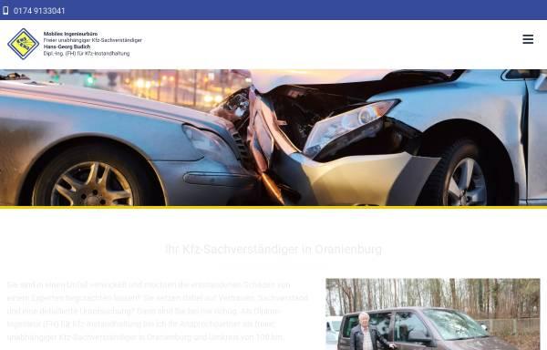 Vorschau von www.kfz-sachverstaendiger-budich.de, Kfz-Sachverständiger Dipl.-Ing. Hans-Georg Budich