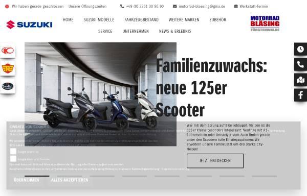 Vorschau von www.motorrad-blaesing.de, Motorrad-Bläsing, Inhaber Thomas Bläsing