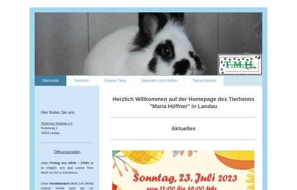 Vorschau von www.tierheim-landau.de, Tierschutzverein Südpfalz e. V.