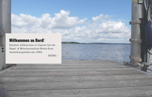 Vorschau von www.boote-caputh.de, Bothe-Wassersport - Inh. Andreas Bothe