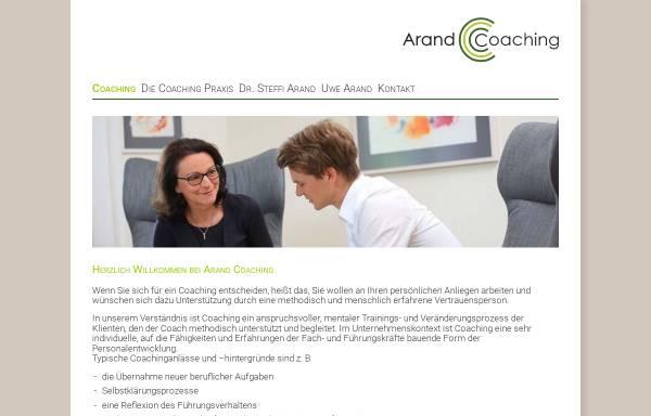 Vorschau von www.personalcoaching-potsdam.de, Dr. Steffi Arand Coaching