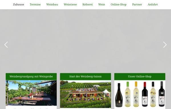 Vorschau von weinbau-lindicke.de, Obst- & Weinbau Dr. Manfred Lindicke
