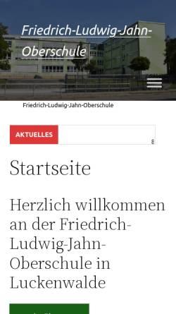 Vorschau der mobilen Webseite osluk.de, Friedrich-Ludwig-Jahn-Oberschule