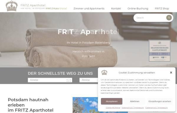 Vorschau von hotelfritz.de, Fritz Apart Hotel Potsdam - Apartment Babelsberg GmbH