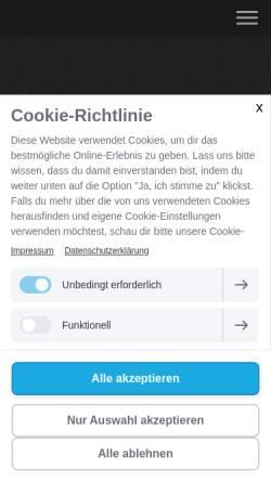 Vorschau der mobilen Webseite www.bodymaker-potsdam.de, Personal Trainer Potsdam - Bodymaker
