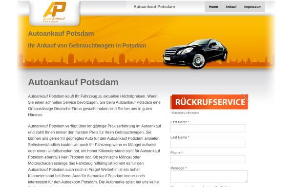 Vorschau von www.auto-ankauf-potsdam.com, Auto Ankauf Potsdam - Inh. Sandro Unger