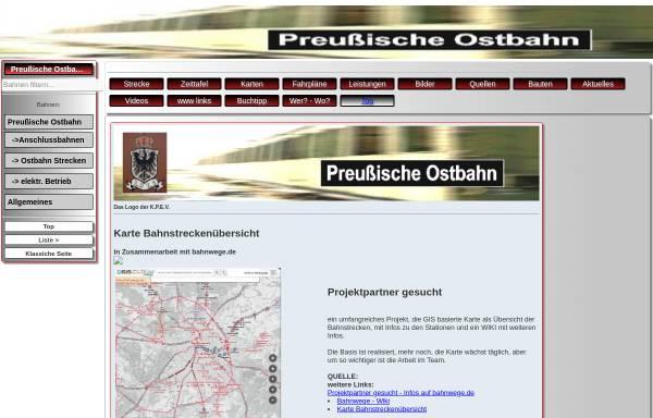 Vorschau von preussische-ostbahn.de, Preussische Ostbahn - Axel Krueger