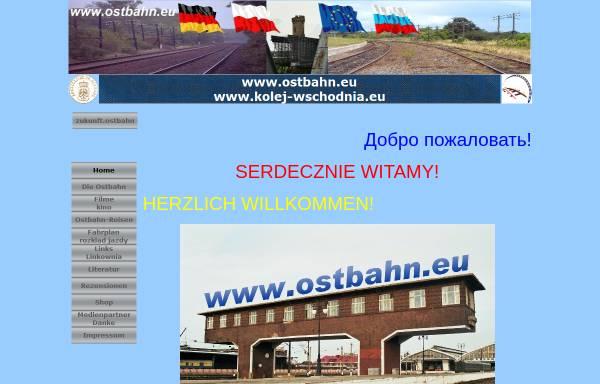 Vorschau von www.ostbahn.eu, Ostbahn - Dipl.-Ing. Jürgen Krebs