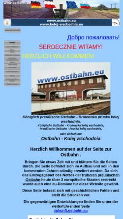 Vorschau der mobilen Webseite www.ostbahn.eu, Ostbahn - Dipl.-Ing. Jürgen Krebs
