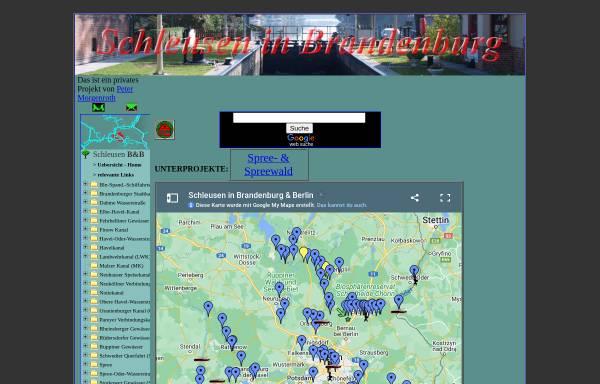 Vorschau von www.gewuerzshop.de, Schleusen in Brandenburg - Peter Morgenroth