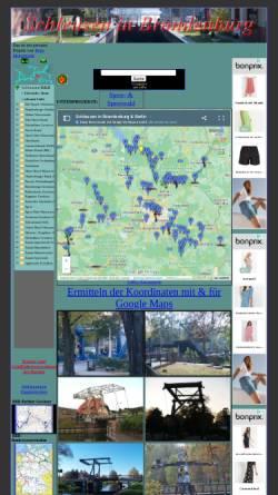 Vorschau der mobilen Webseite www.gewuerzshop.de, Schleusen in Brandenburg - Peter Morgenroth