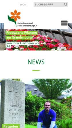 Gartenbauverband Berlin Brandenburg E V Land Und Forstwirtschaft