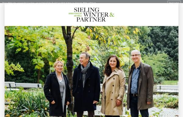 Vorschau von www.arbeitsrecht-am-wall.de, Sieling Winter & Partner