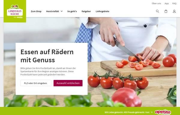 Landhausküche apetito  Landhaus Küche, Apetito AG: Essen und Trinken, Gastgewerbe landhaus ...
