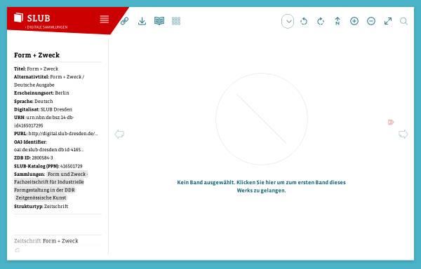 Vorschau von digital.slub-dresden.de, Form + zweck