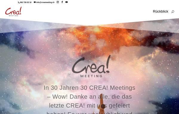Vorschau von creameeting.ch, Crea - Überregionales Jugendmeeting