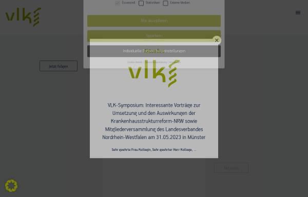 Vorschau von www.vlk-online.de, Verband der leitenden Krankenhausärzte Deutschlands e.V.