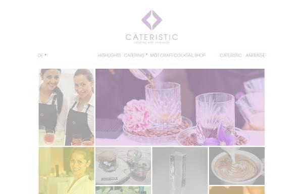 Vorschau von cateristic.com, Cateristic GmbH
