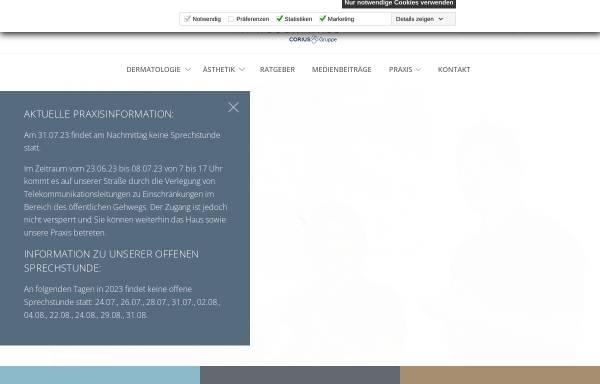 Vorschau von www.dermocosmetic-center-hamburg.de, Dermo Cosmetik Center