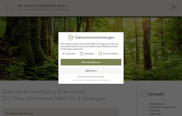 Vorschau von www.dr-bonowski.de, Bonowski, Dr. Silke