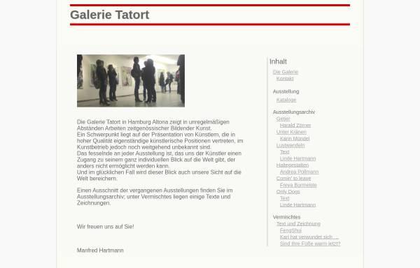 Vorschau von www.galerietatort.de, Galerie Tatort