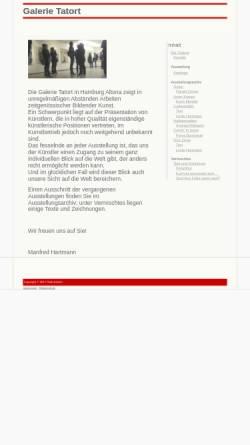 Vorschau der mobilen Webseite www.galerietatort.de, Galerie Tatort