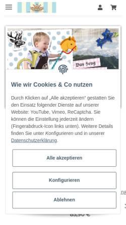 Vorschau der mobilen Webseite p-eisenherz.de, P. Eisenherz Kühlborn KG