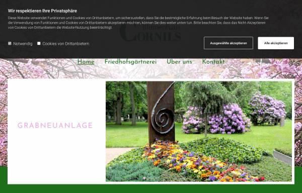 Vorschau von blumenhamburg.de, Blumen Floristik und Friedhofsgärtnerei Cornils