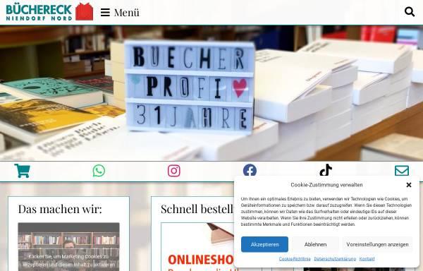 Vorschau von buechereckniendorf.de, Büchereck Niendorf Nord