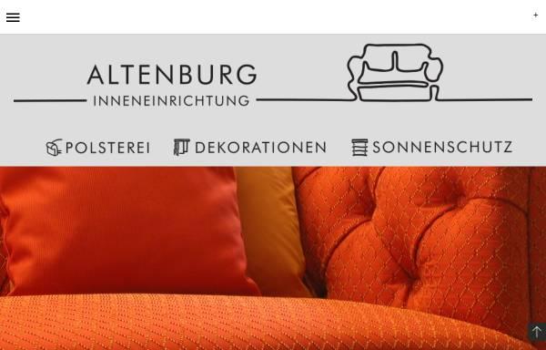 Vorschau von www.altenburg-inneneinrichtung.de, Altenburg Inneneinrichtung