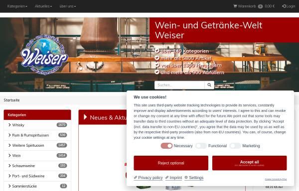 Wein- und Getränke-Welt Weiser: Wirtschaft, Heppenheim getraenkewelt ...