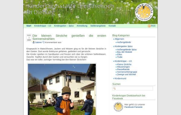 Vorschau von www.dreikaesehoch-dieburg.de, Dreikäsehoch e.V.