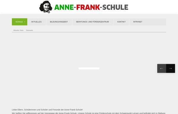 Vorschau von www.annefrankschule-dieburg.de, Anne-Frank-Schule