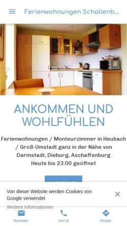 Vorschau der mobilen Webseite ferienwohnung-gross-umstadt.business.site, Ferienwohnung Ortsteil Heubach