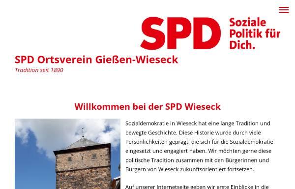 Vorschau von www.wieseck-spd.de, SPD-Ortsverein Wieseck