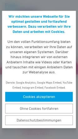 Vorschau der mobilen Webseite fdp-giessen-stadt.de, FDP Gießen