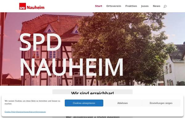 Vorschau von spd-nauheim.de, SPD Nauheim