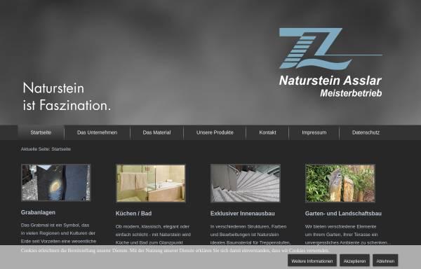 Vorschau von www.naturstein-asslar.de, Zimmermann & Löll Naturstein GmbH & Co. KG