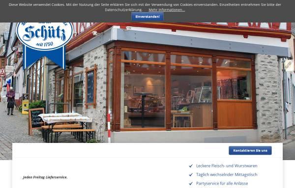 Vorschau von www.metzgerei-schuetz.de, Metzgerei & Partyservice Martin Schütz