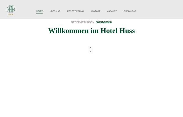 Vorschau von www.hotel-huss.de, Hotel Huss