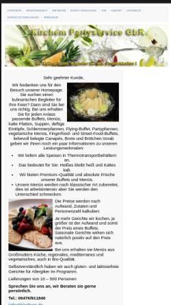 Vorschau der mobilen Webseite kirchem.de, Partyservice Beate Kirchem
